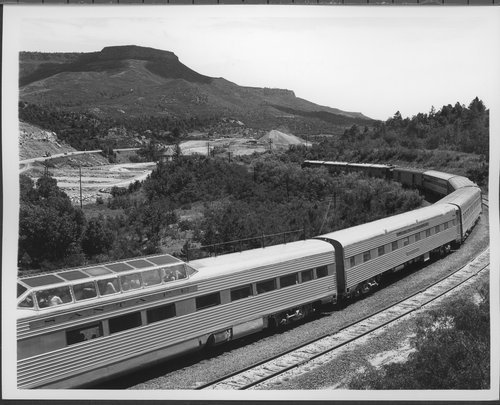 Atchison, Topeka & Santa Fe Railway Company's Super Chief, Raton Pass - Page