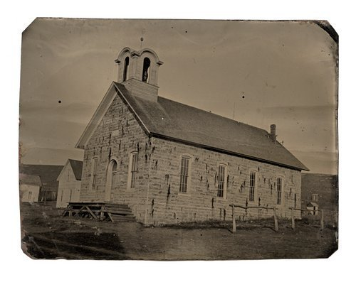 Unidentified stone church - Page