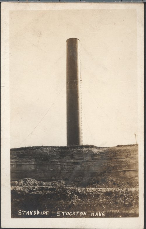 Standpipe in Stockton, Kansas - Page