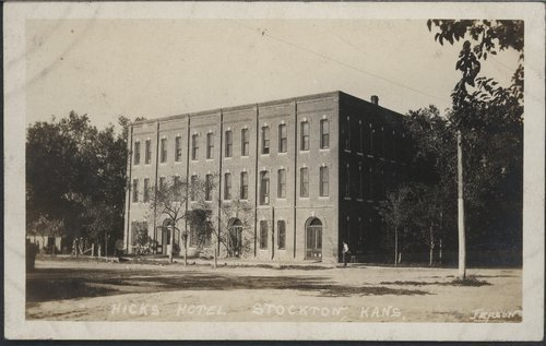 Hicks Hotel in Stockton, Kansas - Page