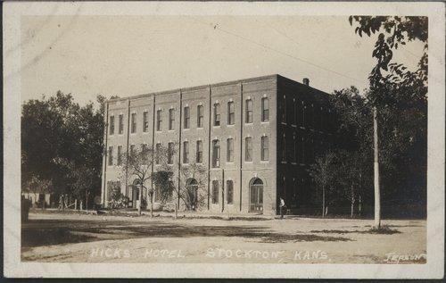 Hicks Hotel in Stockton, Kansas - Page