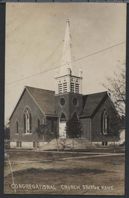 Congregational Church in Stockton, Kansas - Page