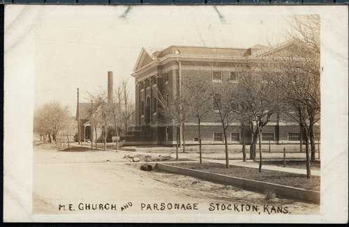 Methodist Episcopal Church and parsonage in Stockton, Kansas - Page