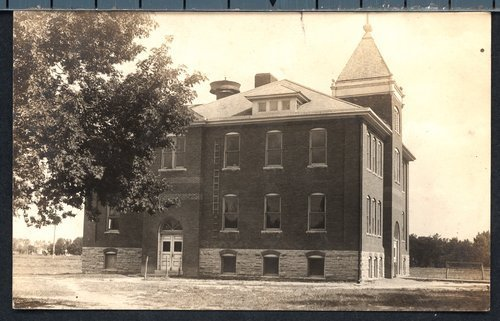 School building in Stockton, Kansas - Page