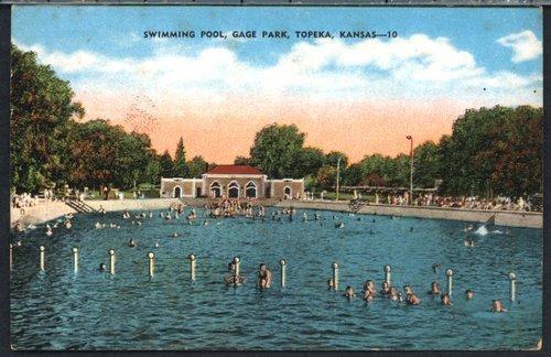 Gage Park swimming pool in Topeka, Kansas - Page