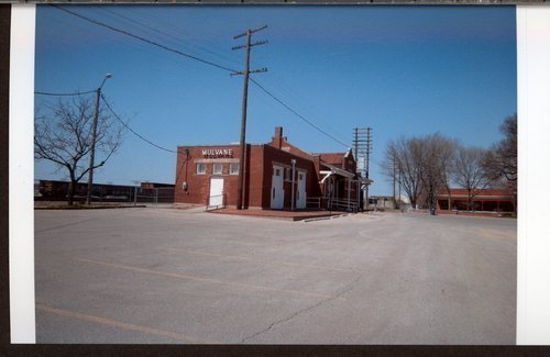 Atchison, Topeka & Santa Fe Railway Company depot, Mulvane, Kansas - Page