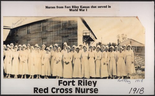 Red Cross nurses at Fort Riley, Kansas - Page