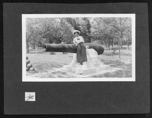Cannon at Riverside park in Wichita, Kansas - Page
