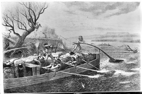 Fur traders attacked on the Missouri River - Page