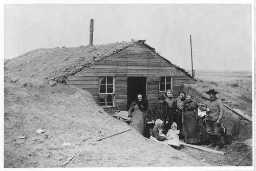 Mead family dugout in Ford County, Kansas - Page