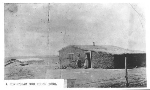 Sod house, Greeley County, Kansas - Page