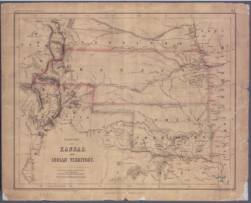 Territory of Kansas and Indian Territory - Page