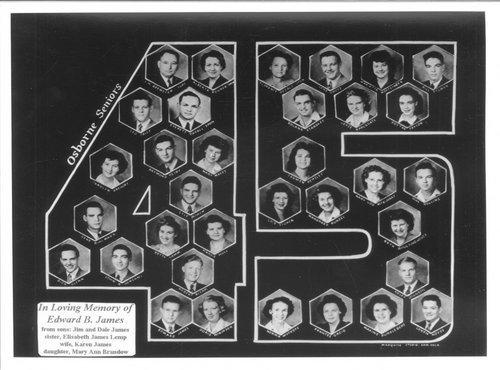 Osborne High School Seniors, Osborne, Kansas - Page