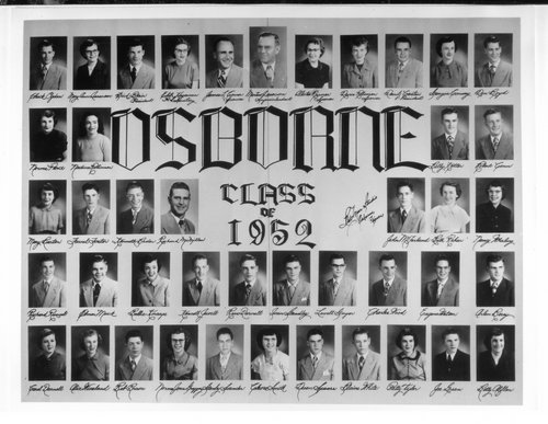 Osborne High School seniors, Osborne, Kansas - Page