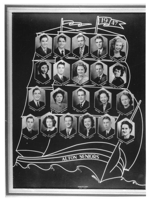 Alton Senior Class, Alton, Kansas - Page