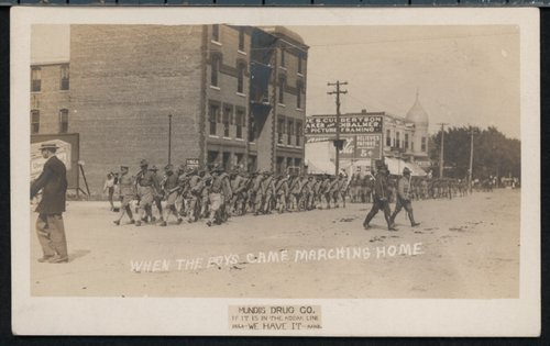 When the Boys Came Marching Home - Page