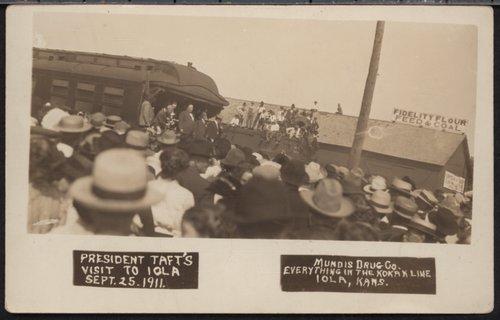 President Taft's Visit to Iola, Kansas - Page