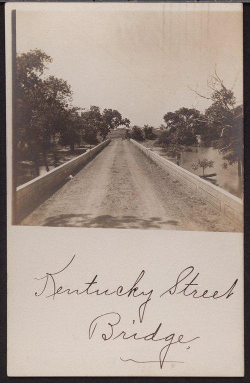 Kentucky Street Bridge, Iola, Kansas - Page