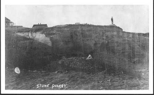 Stone quarry, Pawnee County - Page