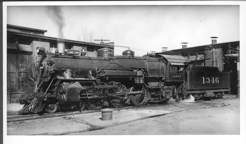Atchison, Topeka & Santa Fe Railway Company's steam locomotive #1346 - Page
