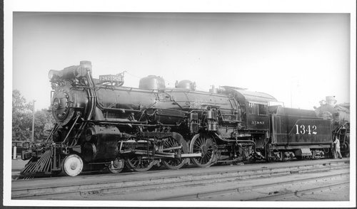 Atchison, Topeka, & Santa Fe Railway Company's steam locomotive #1342 - Page