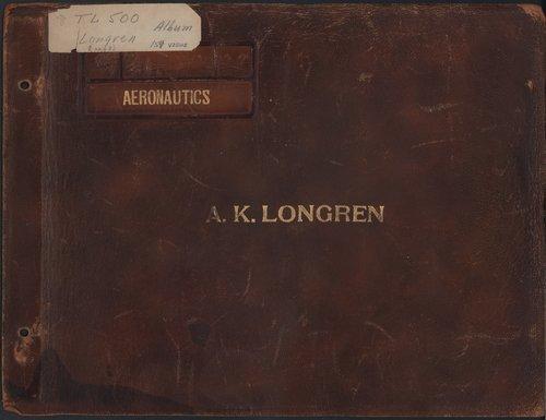 Albin Kasper Longren's photograph album - Page