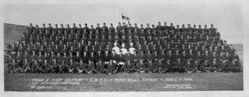 Troop F, First Training Regiment, C.R.T.C. at Fort Riley, Kansas - Page