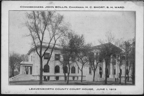 Leavenworth County courthouse in Leavenworth, Kansas - Page