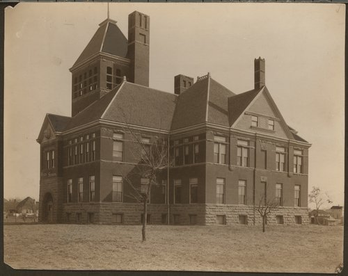 High school building in Parsons, Kansas - Page