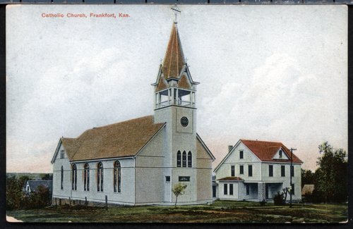 Annunciation Catholic Church and parish house in Frankfort, Kansas - Page