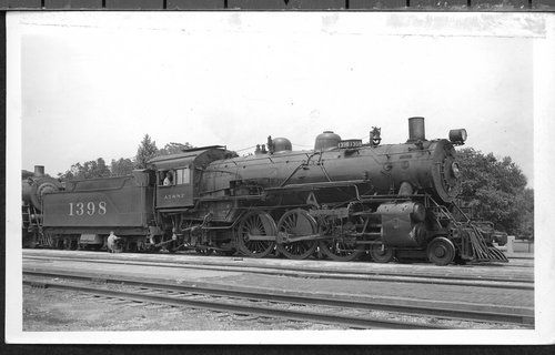 Atchison, Topeka & Santa Fe Railway Company's steam locomotive  #1398 - Page