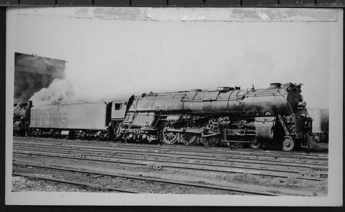 Atchison, Topeka & Santa Fe Railway Company's steam locomotive #2907 - Page