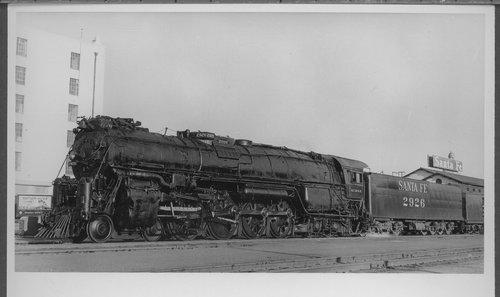 Atchison, Topeka & Santa Fe Railway Company's steam locomotive #2926 - Page