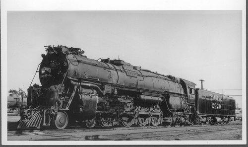 Atchison, Topeka & Santa Fe Railway Company's steam locomotive #2929 - Page