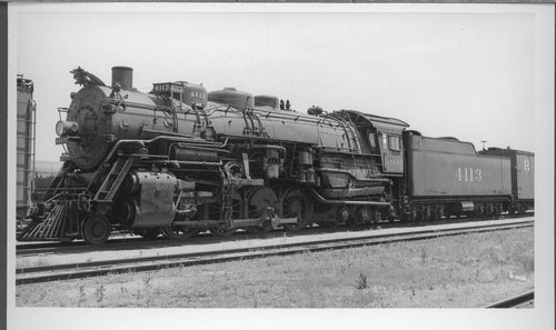 Atchison, Topeka & Santa Fe Railway Company's steam locomotive #4113 - Page