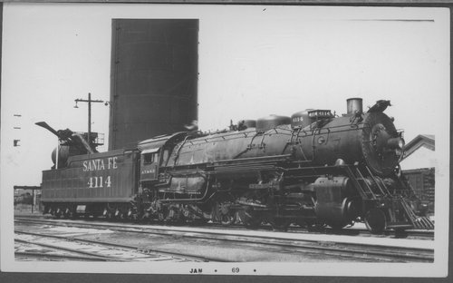Atchison, Topeka & Santa Fe Railway Company's steam locomotive #4114 - Page