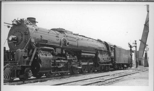 Atchison, Topeka & Santa Fe Railway Company's steam locomotive #5002 - Page