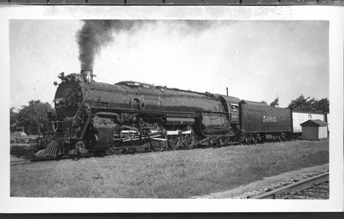 Atchison, Topeka & Santa Fe Railway Company's steam locomotive #5003 - Page