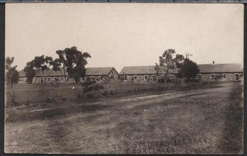 Fort Larned barracks - Page