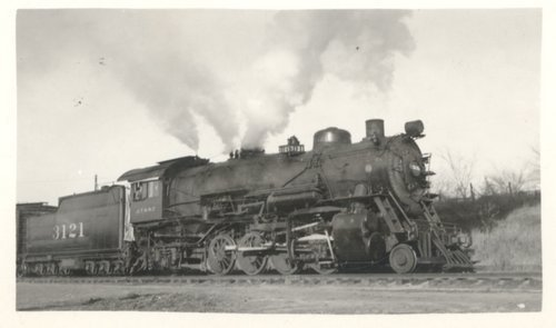 Atchison, Topeka and Santa Fe Railway Company's steam locomotive #3121 - Page