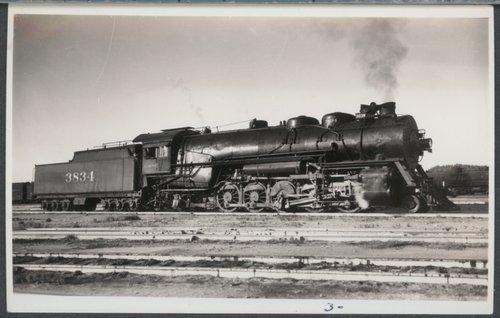 Atchison, Topeka & Santa Fe Railway Company's steam locomotive #3834 - Page