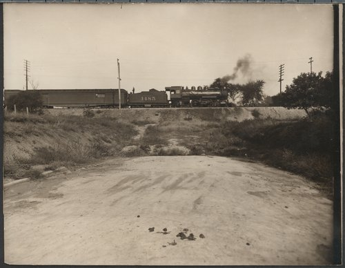 Atchison, Topeka & Santa Fe Railway Company's steam locomotive #1485 - Page