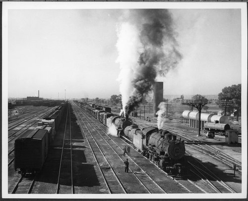 Atchison, Topeka & Santa Fe Railway Company yards, Belen, New Mexico - Page