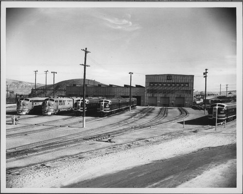 Atchison, Topeka & Santa Fe Railway Company's diesel shops, Barstow, California - Page