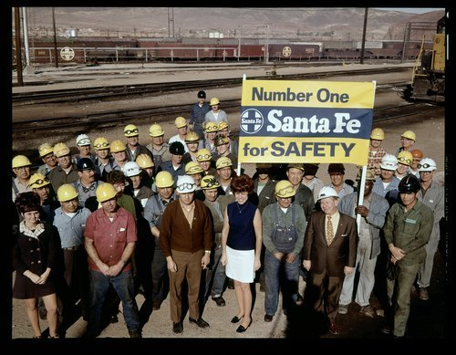 Atchison, Topeka and Santa Fe Railway Company employees in Barstow, California - Page