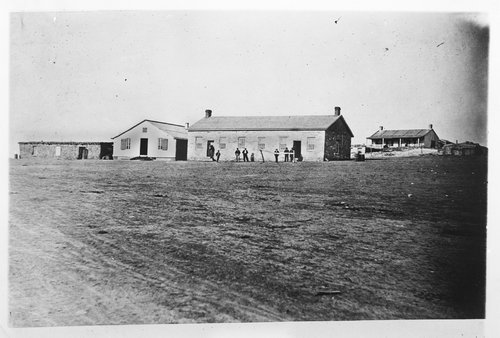Saloon and billiard hall at Fort Dodge, Kansas - Page