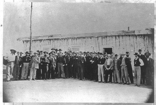 James Butler Hickok at Fort Harker, Kansas - Page