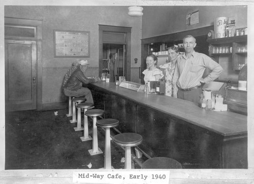 Mid-Way Cafe, Hill City, Kansas - Page