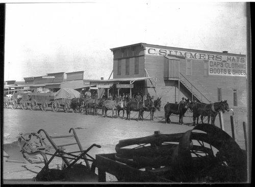 Freight wagons, Liberal, Kansas - Page