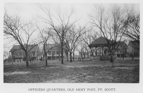 Fort Scott army post, officers quarters - Page